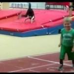 Pierwszy bieg dzieciaka