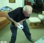 Dziadek szaleje na Wii!