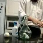 Eksperyment z jajkami i butelką