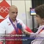 Polski medalista popłakał się na wizji!