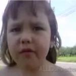 Słodki dzieciaczek recytuje wiersz (18+)