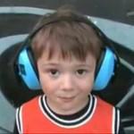 Igor Falecki - czteroletni perkusista