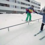 Na nartach z bratem- piękna historia!