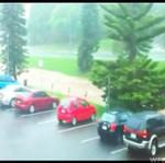 Powódź ZMYŁA parking! (Australia)
