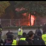 Zamieszki w Paryżu po przegranej Francji