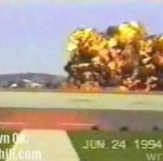 Potężna eksplozja samolotu - Azja