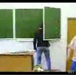 Rosyjska szkoła - kompilacja przemocy