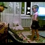 Trzylatek trenuje, by zostać bokserem!