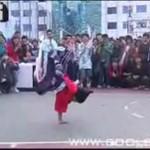 Pięciolatek tańczy breakdance!