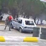 Czołg vs samochód osobowy