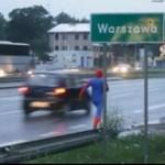 Spiderman w Warszawie - ODLOT!