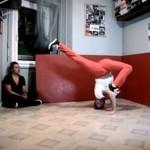 Najbardziej elastyczny tancerz świata!