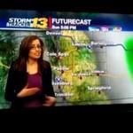 Wpadka pogodynki - jak myślicie, wyleciała z pracy?