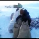 Łowienie pod lodem - ROSJA!