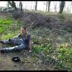 Franki lubi smak gleby - WYPADEK!