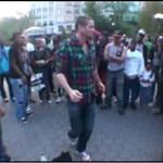 Uliczny taniec - pozamiatał!