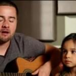 """Ojciec i córka w coverze piosenki """"Rolling in the deep"""""""