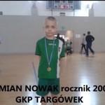 Sześcioletni piłkarz - Damian Nowak