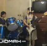 Metalowy band kilkulatków!