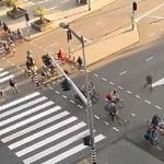 Ruch uliczny w Amsterdamie