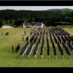 Koreańskie wojska - pokaz siły