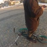 Afera z rowerem