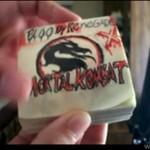 Mortal Kombat w wersji karteczkowej