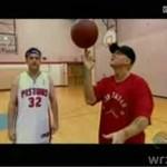 Eminem gra z Kimmelem w koszykówkę!