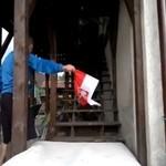 Skocznia narciarska domowej roboty