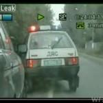 Pościg uliczny w Rosji
