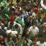 Chaos w metrze - HISZPANIA