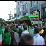 Irlandczycy w Polsce - królowie kibicowania!