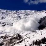 Lawina śnieżna we Włoszech