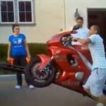 10 wypadków na motocyklach!