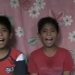 Niesamowite wideo śpiewających braci