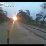 Mycie pociągu w Pakistanie