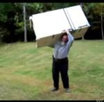 Podnosi lodówkę BEZ PROBLEMU!