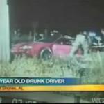 Pijany jedenastolatek za kierownicą!