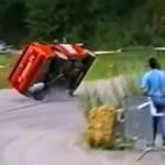 Wypadki rajdowe- składanka pełna wrażeń!