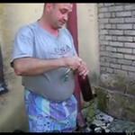 Andrzej obala wino w 8 SEKUND!!!