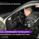 ZALANY W TRUPA policjant z Rumunii!