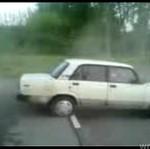 Parkowanie Ładą - na ostro!