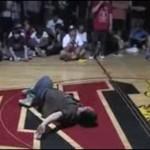 Breakdancer znokautował przeciwnika!