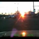 Wypadek samochodowy - z bardzo bliska!