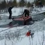 Zimowy offroad - WYPADEK