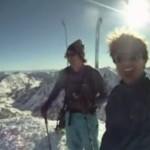 LATANIE na nartach!