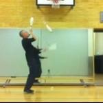 Żonglowanie do dubstepu - WOW!
