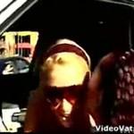 Paris Hilton dała bezdomnemu 100 dolarów