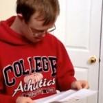 Chłopak z zespołem Downa przyjęty na studia