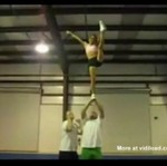 Rzucanie cheerleaderką - wow!
